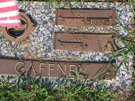 GAFFNEY, JOHN P. - Linn County, Iowa | JOHN P. GAFFNEY