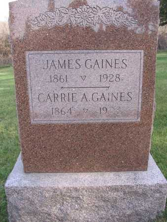 GAINES, CARRIE A. - Linn County, Iowa | CARRIE A. GAINES