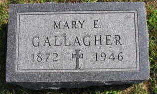 GALLAGHER, MARY E. - Linn County, Iowa | MARY E. GALLAGHER