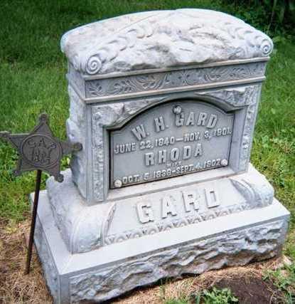 GARD, W.H. - Linn County, Iowa | W.H. GARD