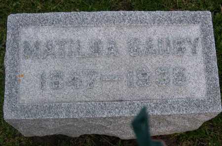 GAUBY, MATILDA - Linn County, Iowa | MATILDA GAUBY