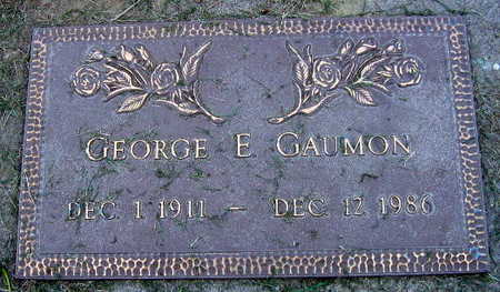 GAUMON, GEORGE E. - Linn County, Iowa | GEORGE E. GAUMON
