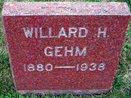 GEHM, WILLARD H. - Linn County, Iowa | WILLARD H. GEHM