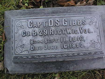 GIBBS, D.S. - Linn County, Iowa | D.S. GIBBS