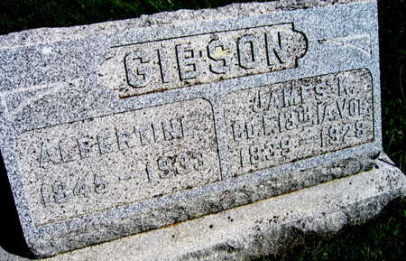GIBSON, JAMES K. - Linn County, Iowa | JAMES K. GIBSON
