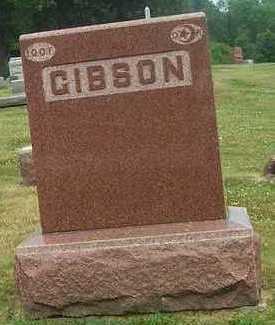GIBSON, FAMILY STONE - Linn County, Iowa | FAMILY STONE GIBSON