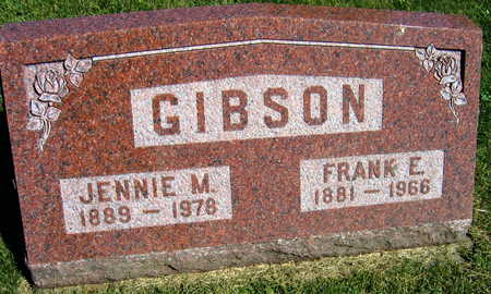 GIBSON, JENNIE M. - Linn County, Iowa | JENNIE M. GIBSON