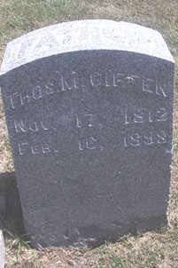 GIFFEN, THOMAS M. - Linn County, Iowa | THOMAS M. GIFFEN