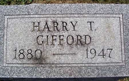 GIFFORD, HARRY T. - Linn County, Iowa | HARRY T. GIFFORD
