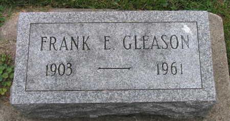 GLEASON, FRANK E. - Linn County, Iowa | FRANK E. GLEASON
