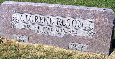 ELSON GODDARD, CLORENE - Linn County, Iowa | CLORENE ELSON GODDARD