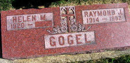 GOGEL, RAYMOND J. - Linn County, Iowa | RAYMOND J. GOGEL
