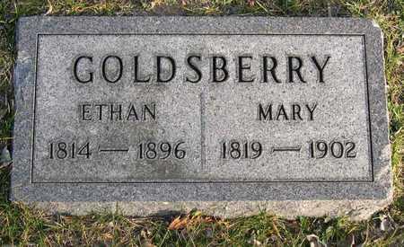 GOLDSBERRY, MARY - Linn County, Iowa | MARY GOLDSBERRY