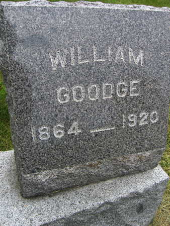 GOODGE, WILLIAM - Linn County, Iowa | WILLIAM GOODGE
