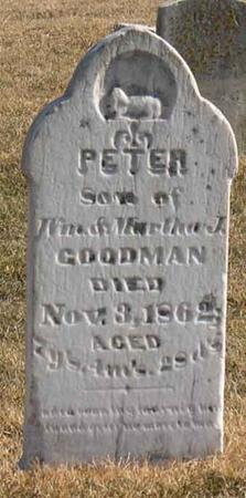 GOODMAN, PETER - Linn County, Iowa | PETER GOODMAN