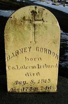 GORDON, BARNEY - Linn County, Iowa | BARNEY GORDON