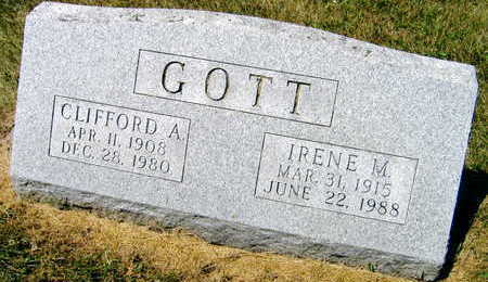 GOTT, CLIFFORD A. - Linn County, Iowa | CLIFFORD A. GOTT