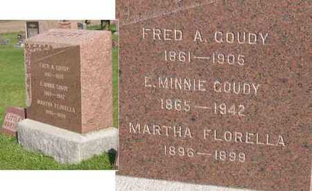 GOUDY, FRED A. - Linn County, Iowa | FRED A. GOUDY