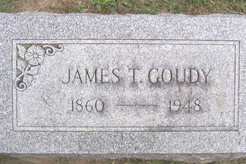 GOUDY, JAMES T. - Linn County, Iowa | JAMES T. GOUDY