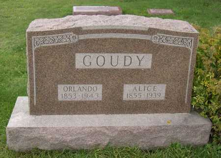 GOUDY, ALICE - Linn County, Iowa | ALICE GOUDY