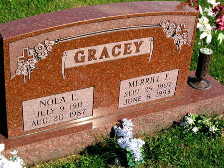GRACEY, NOLA L. - Linn County, Iowa | NOLA L. GRACEY