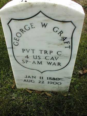 GRAFT, PVT. GEORGE W. - Linn County, Iowa | PVT. GEORGE W. GRAFT