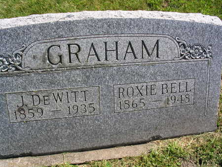 GRAHAM, J. DE WITT - Linn County, Iowa | J. DE WITT GRAHAM