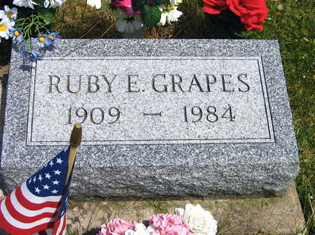 GRAPES, RUBY E. - Linn County, Iowa | RUBY E. GRAPES