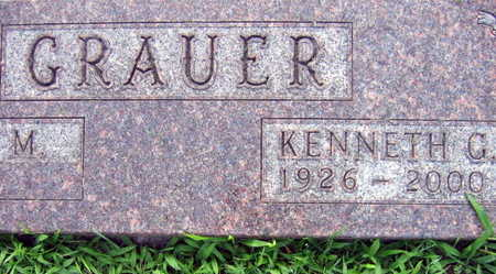 GRAUER, KENNETH G. - Linn County, Iowa | KENNETH G. GRAUER