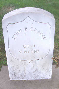 GRAVES, JOHN B. - Linn County, Iowa | JOHN B. GRAVES