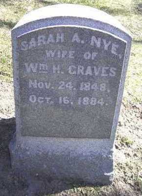 NYE GRAVES, SARAH - Linn County, Iowa | SARAH NYE GRAVES