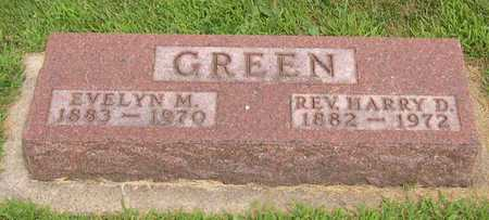 GREEN, REV. HARRY D. - Linn County, Iowa | REV. HARRY D. GREEN