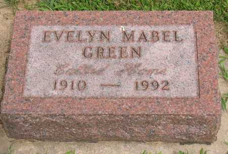 GREEN, EVELYN MABEL - Linn County, Iowa | EVELYN MABEL GREEN