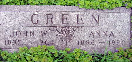 GREEN, ANNA - Linn County, Iowa | ANNA GREEN