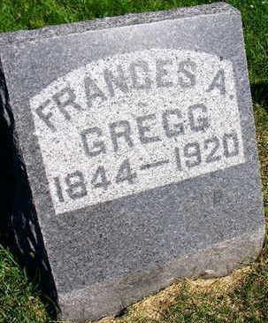GREGG, FRANCES A. - Linn County, Iowa   FRANCES A. GREGG