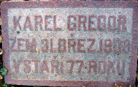 GREGOR, KAREL - Linn County, Iowa | KAREL GREGOR