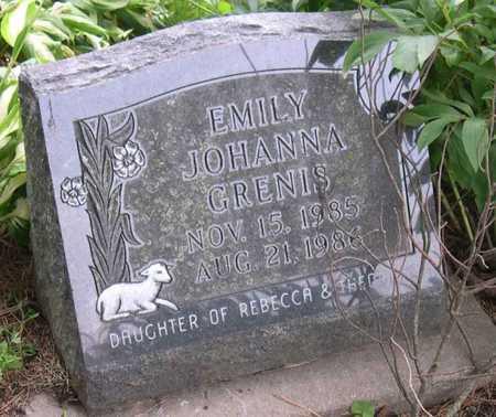 GRENIS, EMILY JOHANNA - Linn County, Iowa | EMILY JOHANNA GRENIS
