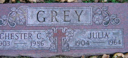 GREY, JULIA. - Linn County, Iowa | JULIA. GREY