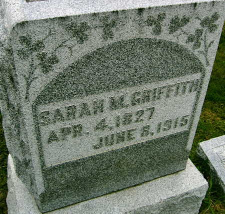 GRIFFITH, SARAH M. - Linn County, Iowa | SARAH M. GRIFFITH