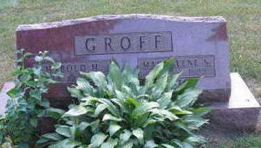 GROFF, HAROLD H. - Linn County, Iowa | HAROLD H. GROFF