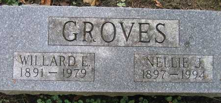 GROVES, WILLARD E. - Linn County, Iowa | WILLARD E. GROVES