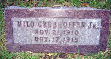 GRUBHOFFER, MILO JR. - Linn County, Iowa | MILO JR. GRUBHOFFER