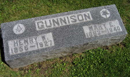 GUNNISON, MARY E. - Linn County, Iowa | MARY E. GUNNISON
