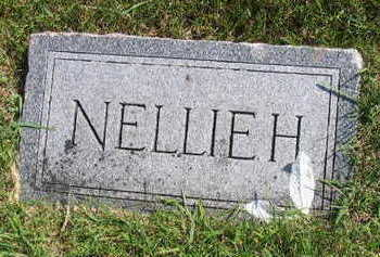 UNKNOWN, NELLIE H. - Linn County, Iowa | NELLIE H. UNKNOWN