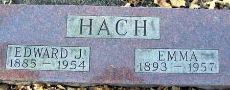 HACH, EDWARD J. - Linn County, Iowa | EDWARD J. HACH