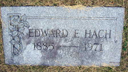 HACH, EDWARD E. - Linn County, Iowa | EDWARD E. HACH