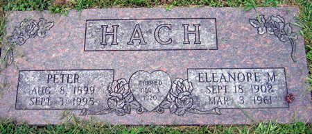 HACH, ELEANORE M. - Linn County, Iowa | ELEANORE M. HACH