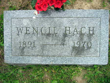 HACH, WENCIL - Linn County, Iowa | WENCIL HACH