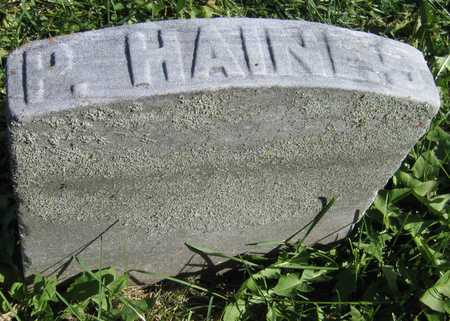 HAINES, P. - Linn County, Iowa | P. HAINES