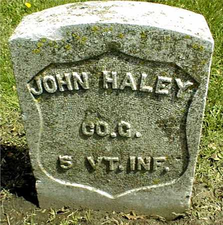 HALEY, JOHN - Linn County, Iowa | JOHN HALEY